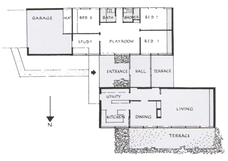 Fenner House plan